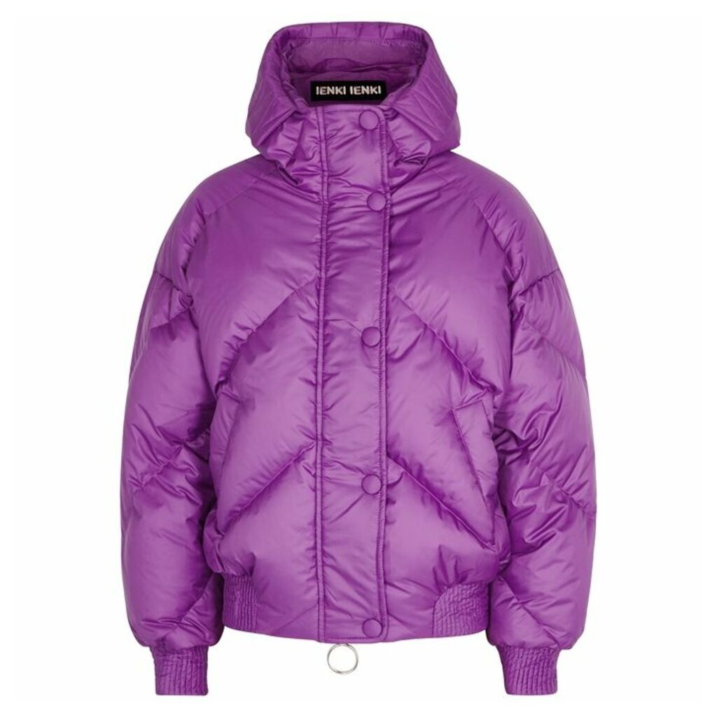 IENKI IENKI Dunlop Quilted Shell Bomber Jacket