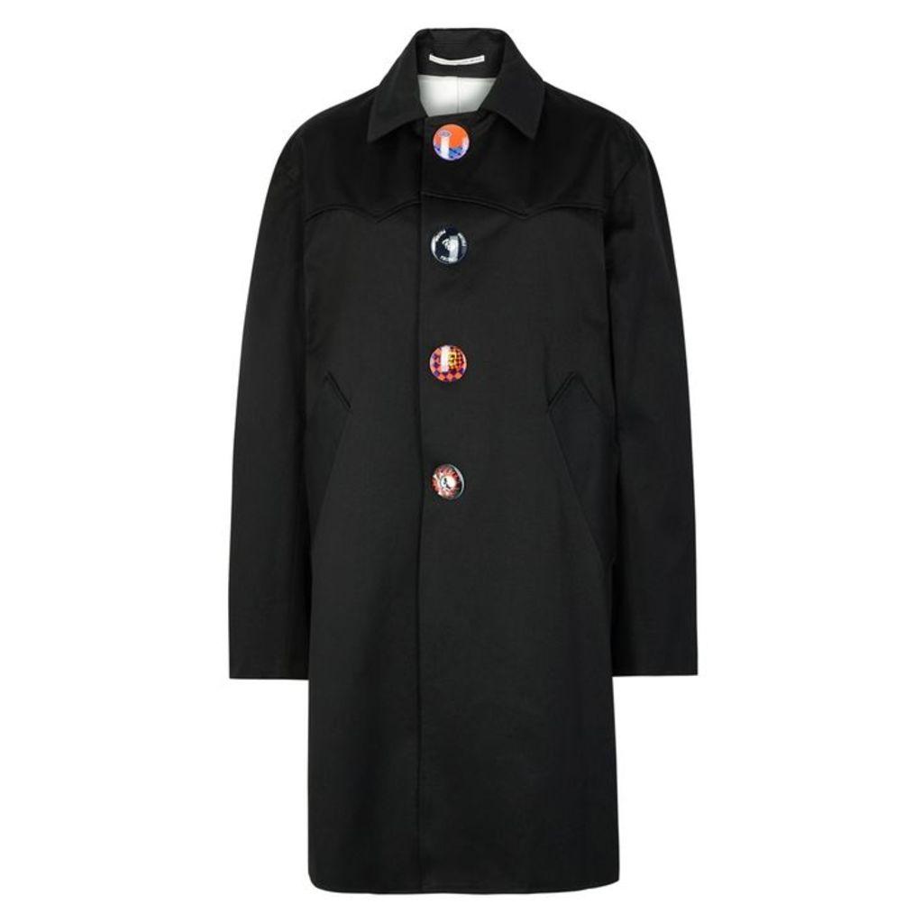 WESTLEY AUSTIN Black Twill Jacket