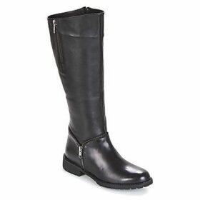 Elue par nous  DANCE  women's High Boots in Black