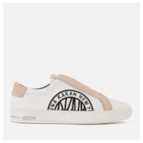 DKNY Women's Conner Slip-On Trainers - White - UK 3 - White