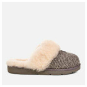 UGG Women's Cozy Knit Slippers - Charcoal - UK 3 - Grey