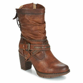 Mustang  IZUSA  women's High Boots in Brown