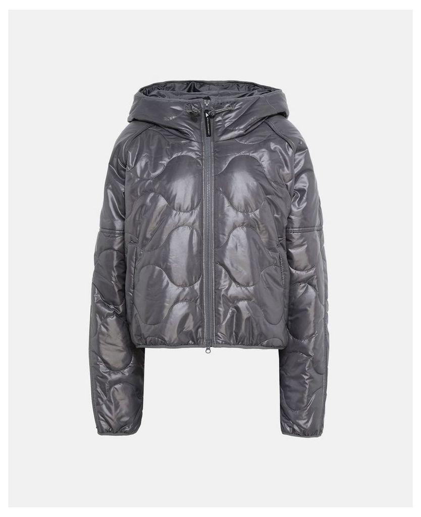 Stella McCartney Granite Grey Running Jacket, Women's, Size M