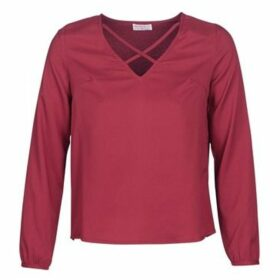Moony Mood  JOULINE  women's Blouse in Bordeaux