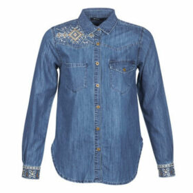 Desigual  EXOTIC CLASSIC  women's Shirt in Blue