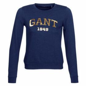 Gant  GIFT GIVING LOGO SWEAT  women's Sweatshirt in Blue