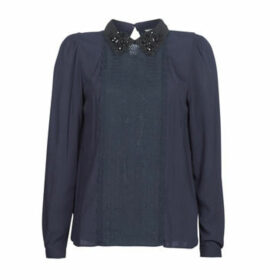 Naf Naf  HMAMIE  women's Blouse in Blue