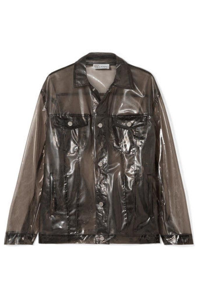 REDValentino - Glossed-pu Jacket - Black