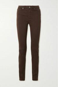 JW Anderson - Twist-front Paneled Cotton-poplin Shirt - Light blue