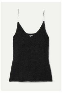 3.1 Phillip Lim - Crystal-embellished Knitted Tank - Black