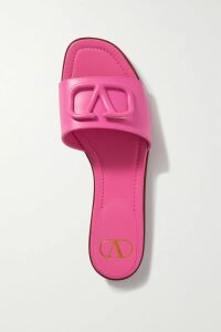 Diane von Furstenberg - Jacquard-knit Turtleneck Top - Dark green