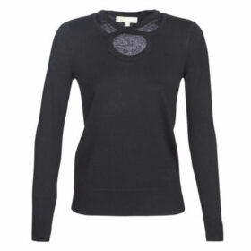 MICHAEL Michael Kors  CROSS NK TOP  women's Sweater in Black