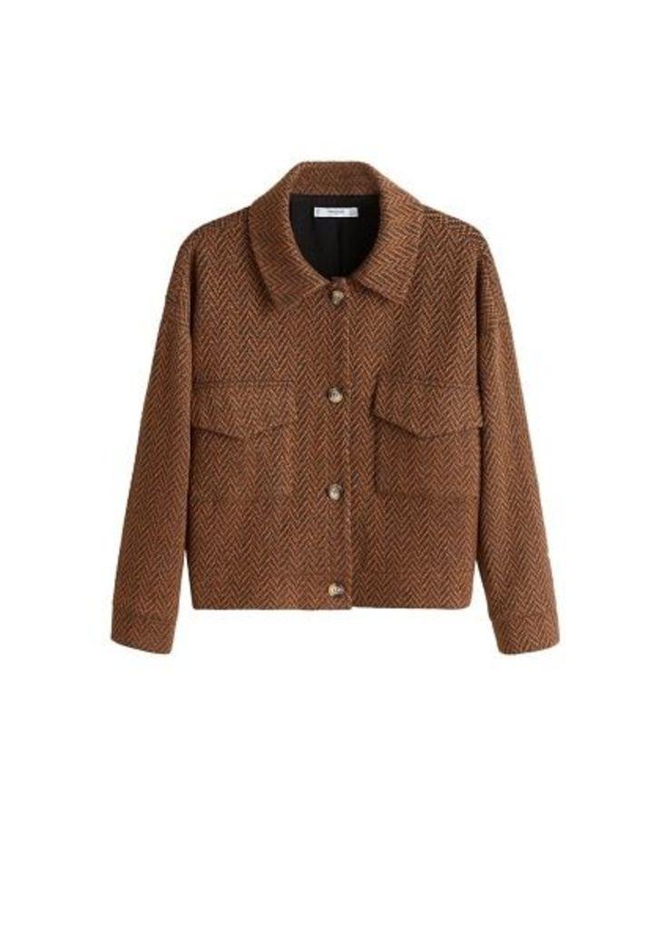 Herringbone pocket jacket