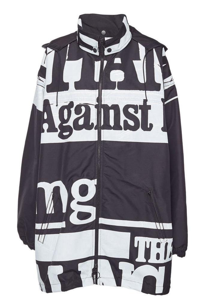 Maison Margiela Oversized Printed Jacket