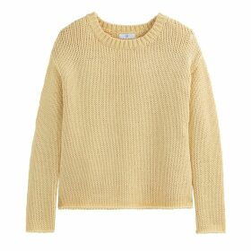 Chunky Cotton Knit Jumper