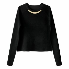 Embellished Crew Neck Jumper