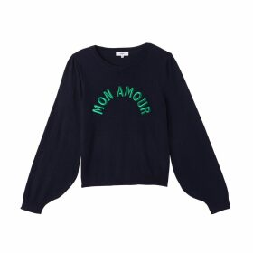 Peregrine Embroidered Crew Neck Jumper