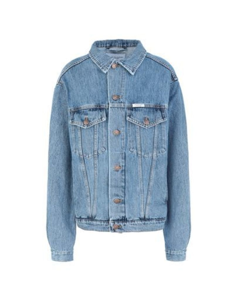 FORTE COUTURE DENIM Denim outerwear Women on YOOX.COM