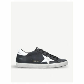 Superstar L27 leather trainers