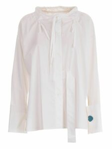 Eudon Choi Lace-up Blouse