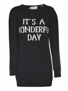 Alberta Ferretti Embroidered Sweatshirt