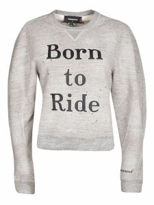DSquared2 Born to Ride print Sweatshirt