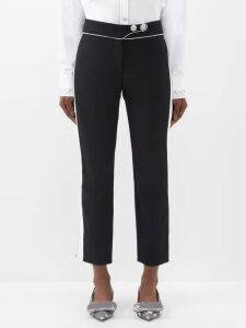 Galvan - Horizon Jersey Dress - Womens - Black