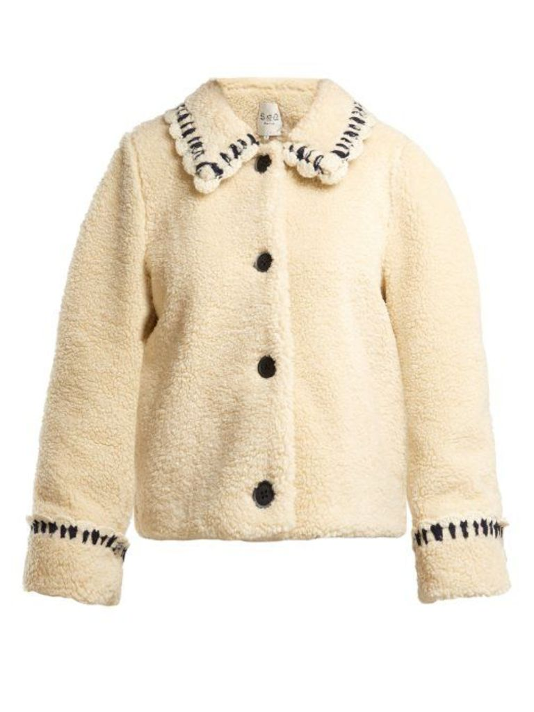 Sea - Madeline Fleece Jacket - Womens - Cream