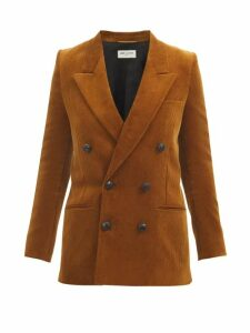 Germanier - Bead Embellished Twill Mini Skirt - Womens - Yellow