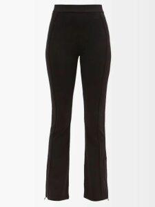 Racil - Korin High-rise Wool-blend Trousers - Womens - Grey Multi