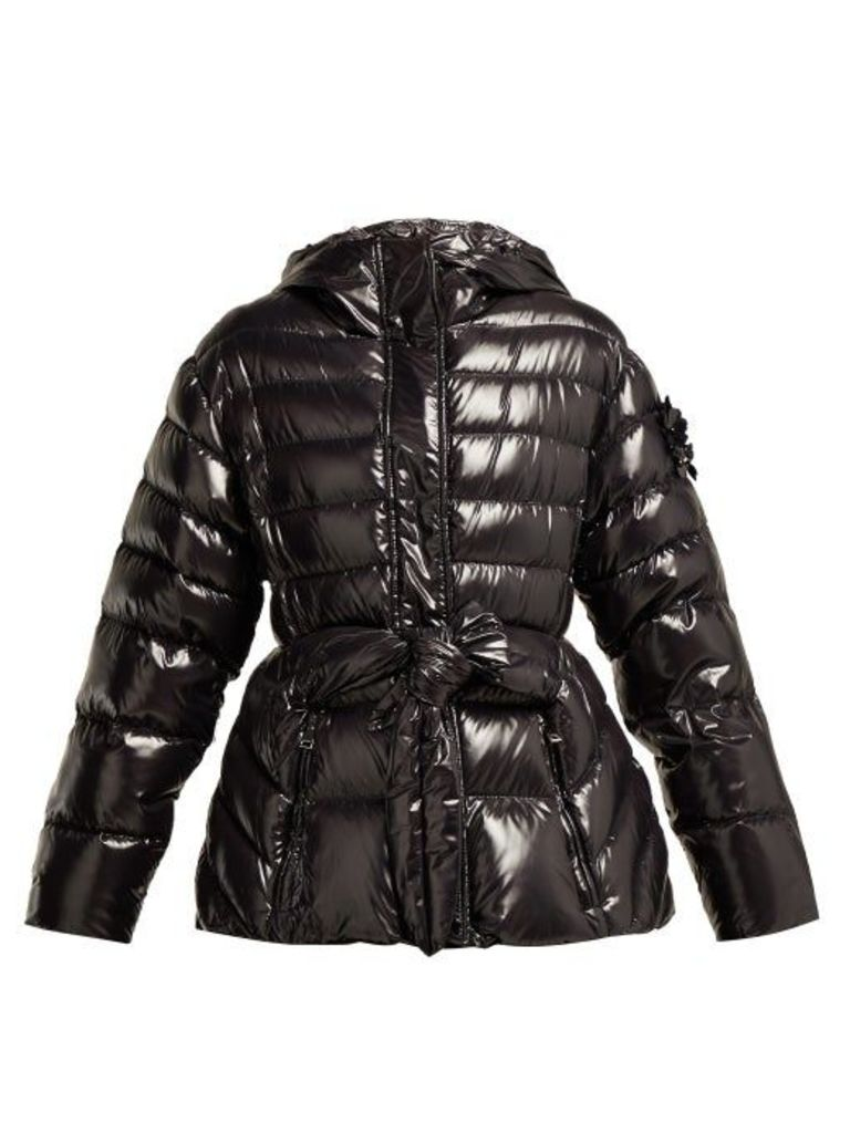 4 Moncler Simone Rocha - Lolly Down Filled Hooded Jacket - Womens - Black