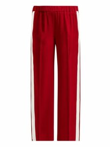 Elizabeth And James - Kelly Striped Track Pants - Womens - Red White