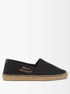 Joostricot - Striped Cotton Blend Roll Neck Sweater - Womens - Blue Multi