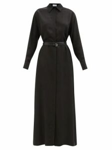 Raey - Button-through Broderie-anglaise Cami Top - Womens - Light Blue