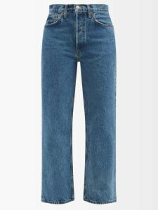 Raey - Gathered Silk Sleeveless Smock Top - Womens - Black
