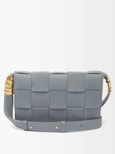 Joostricot - Peachskin Roll Neck Cotton Blend Sweater - Womens - Light Blue