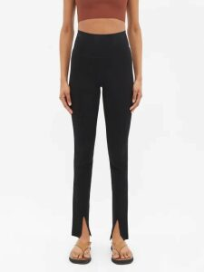 Raey - Crew-neck Japanese-jersey Sweatshirt - Womens - Black
