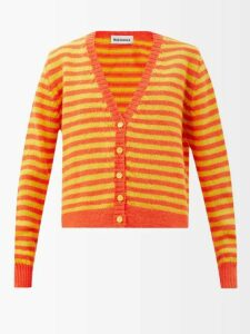 Alexachung - Stud-embellished Suede Chelsea Boots - Womens - Red