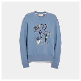 Coach Selena Bunny Sweatshirt
