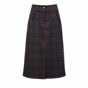 Nissa - Velvet Dress With Flare Sleeves