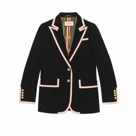 Stretch viscose jacket