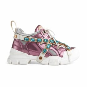 Women's Flashtrek sneaker with removable crystals