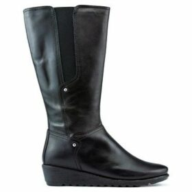 The Flexx  BOOTS  WILL IT RUN  women's High Boots in Black