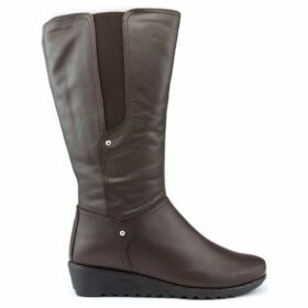 The Flexx  BOOTS  WILL IT RUN  women's High Boots in Brown