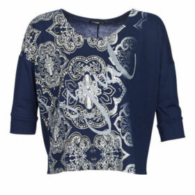 Desigual  NISSA  women's Sweater in Blue