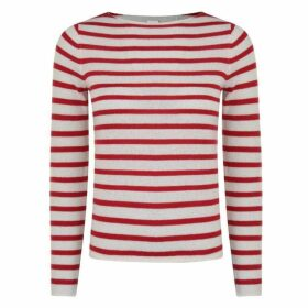 Boss Striped Cashmere Jumper