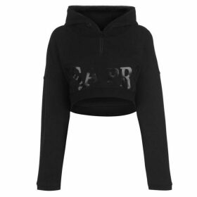 USA Pro Little Mix Crop Hoodie Ladies - Black (J)