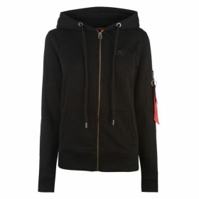 Alpha Industries X Fit Zip Hoodie