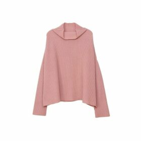 Arela Drew Cashmere Sweater In Rose