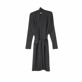 Arela Haru Cashmere Robe In Dark Grey
